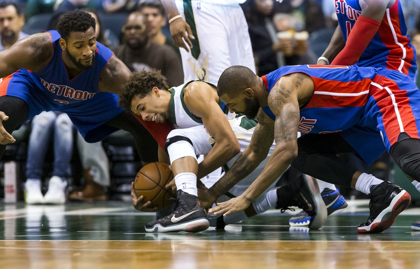 photograph relating to Detroit Pistons Printable Schedule identified as Milwaukee Pounds Get rid of Preseason Opener 117-88 in direction of Pistons