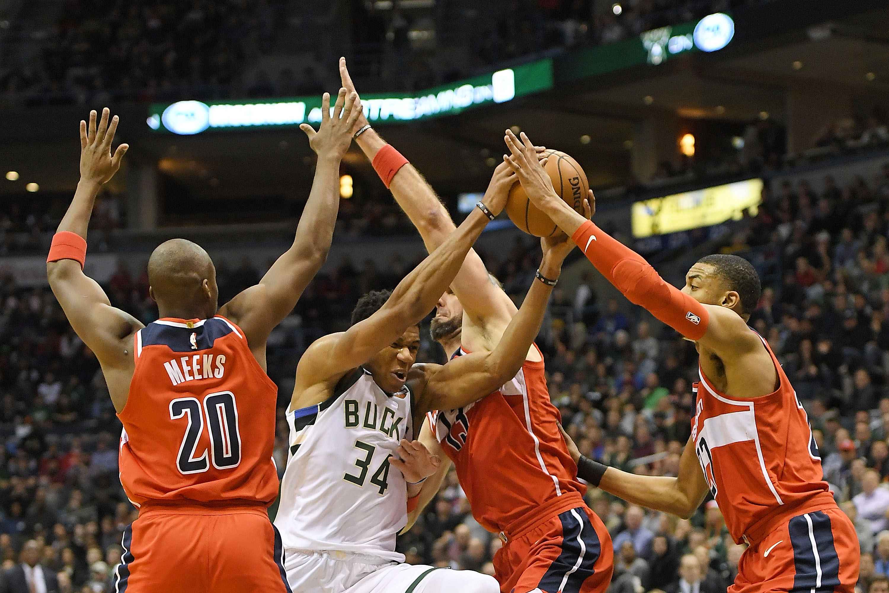 Beal, Wizards sink Bucks 99-88