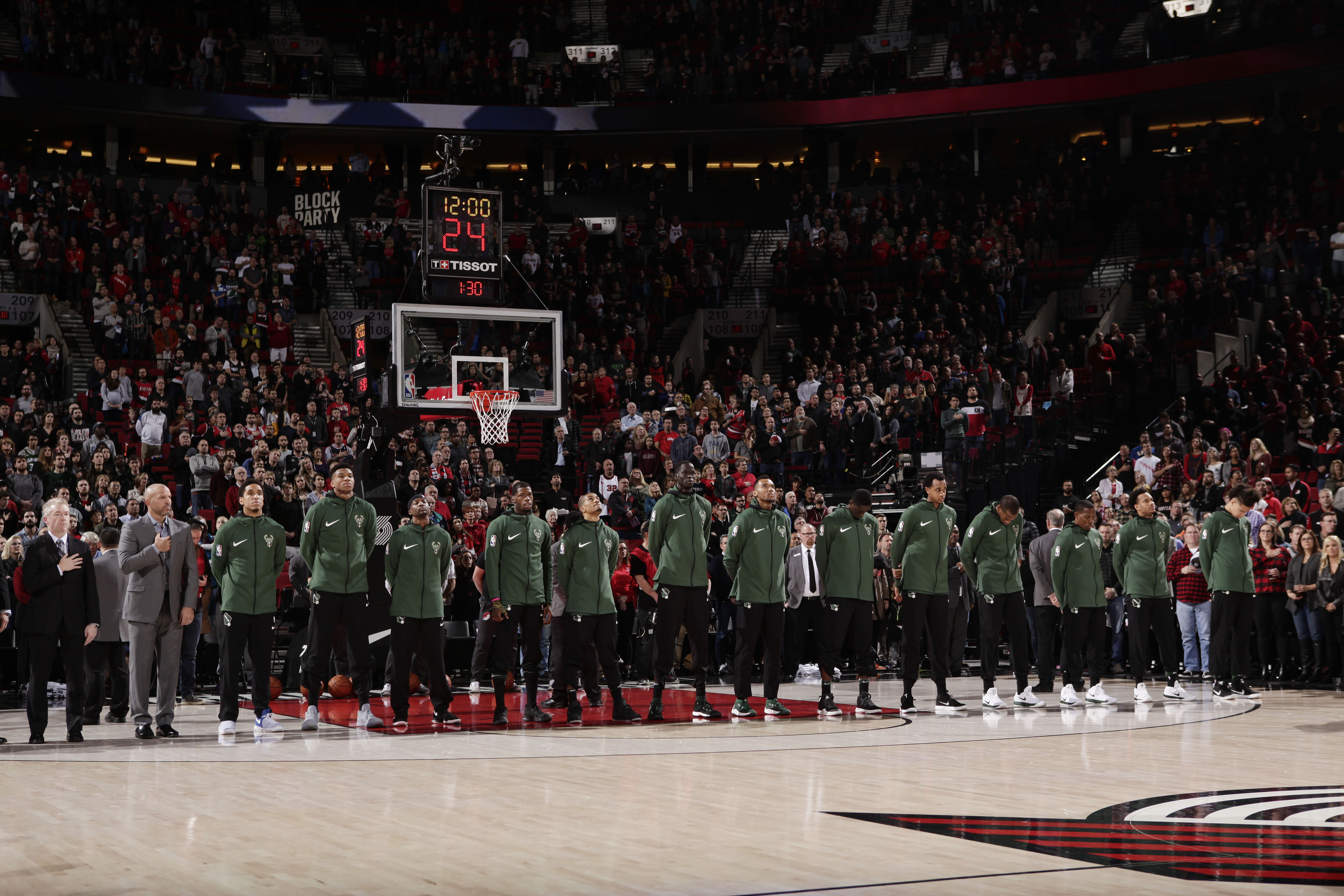 Blazers Unable To Overcome Early Deficit In Loss To Bucks