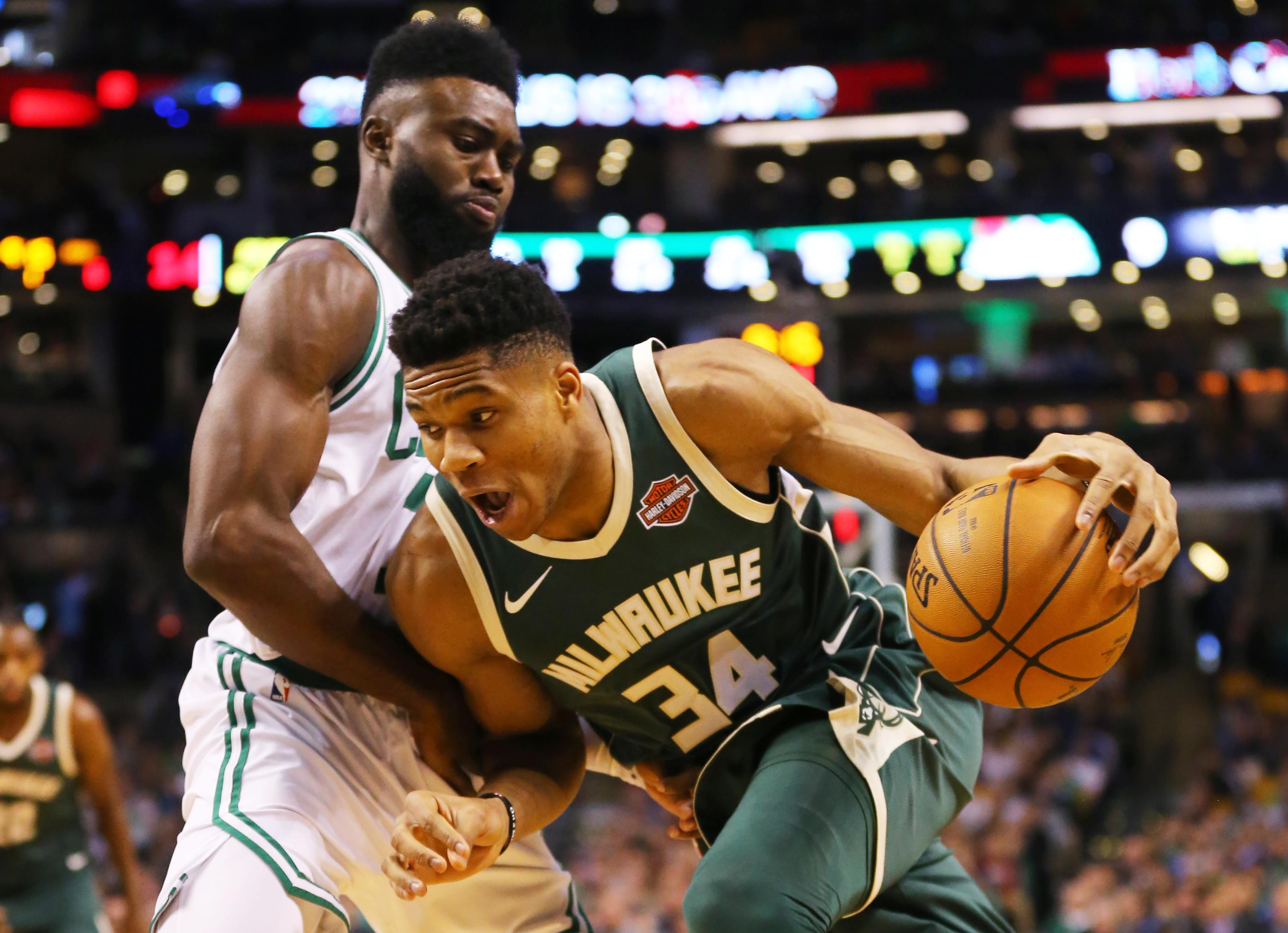 Irving, Celtics overpower Antetokounmpo