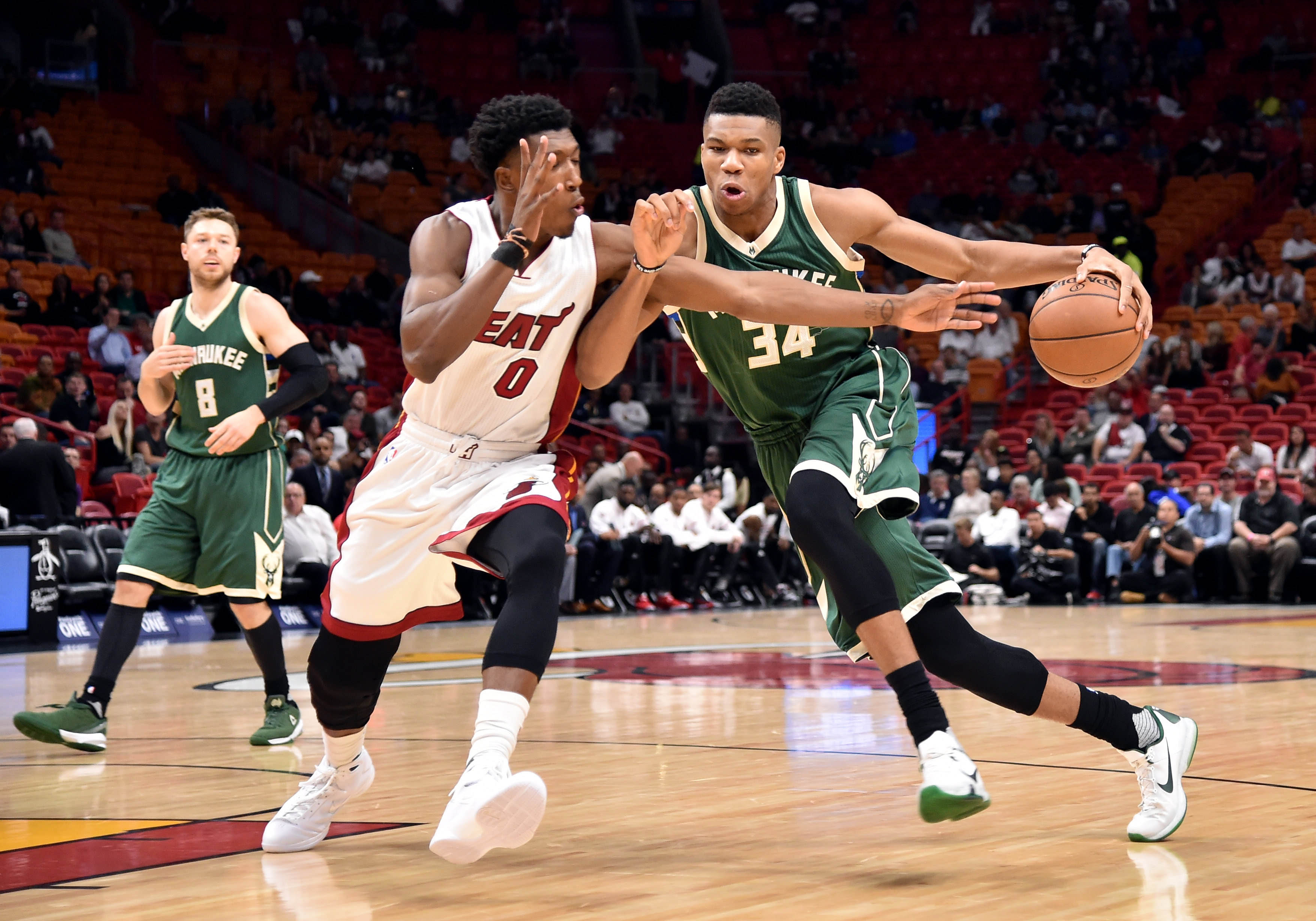 Nba Basketball Miami Heat Bedroom In: Milwaukee Bucks Game Preview: Jan. 13 Vs Miami Heat