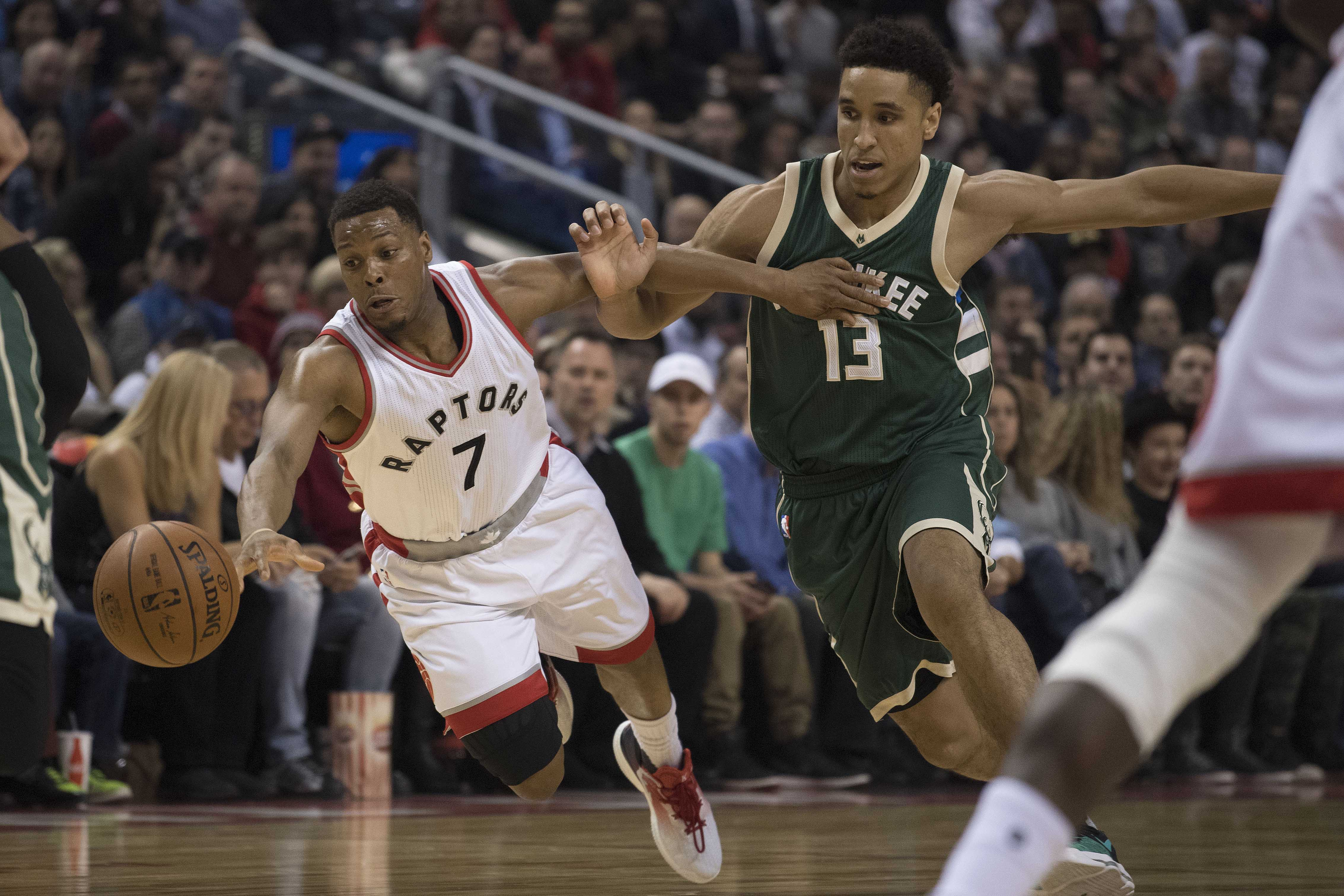Image result for kyle lowry vs bucks usa today